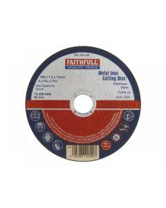Faithfull Metal Cut Off Disc Range