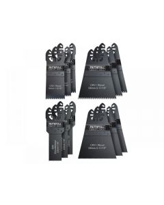 Faithfull Multi-Function Tool Blade Set, 12 Piece MFKIT12