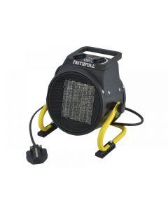 Faithfull Power Plus Ceramic Fan Heater 2kW ..
