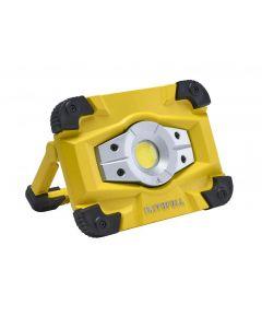 Faithfull Power Plus Rechargeable Work Light Magnetic Base 10W