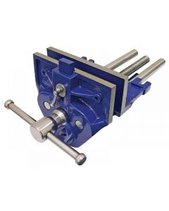 Faithfull Woodwork Vice With Quick-Release & Dog Range