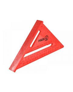 Fisco X55E Red Plastic Rafter Angle Square 175mm X55E-CW