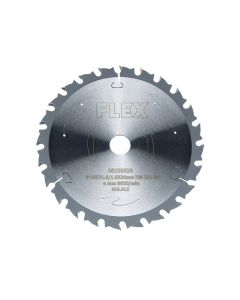 Flex Circular Saw Blade with Alternating Teeth 165 x 20mm x 48T