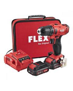 Flex Professional DD 2G 10.8-LD Drill Driver in Case 10.8V DD2G108LD