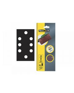 Flexovit 1/3 Perforated Sanding Sheets 93 x 230mmmm Range