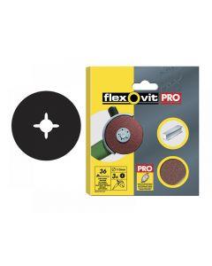 Flexovit Aluminium Oxide Fibre Discs 115mm Range