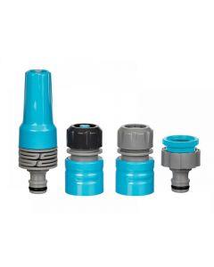 Flopro Hose Connector Starter Set 12.5 - 19mm (1/2 - 3/4in)