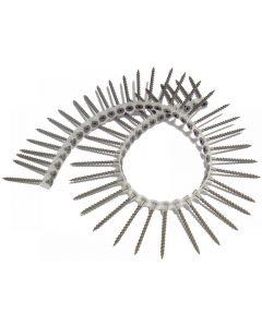 ForgeFix Collated Drywall Screws, Phillips, Bugle Head Range