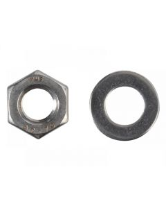 ForgeFix Hexagon Nuts & Washers, A2 Stainless Steel Range