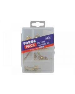ForgeFix Picture Hook Kit Forge Pack 28 Piece