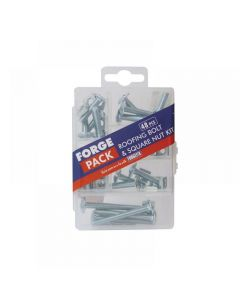 ForgeFix Roofing Bolt Kit ForgePack 48 Piece
