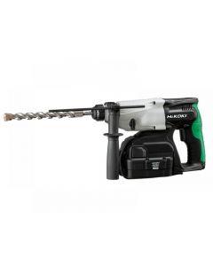 HiKOKI DH24DVC SDS Plus Hammer Drill 3-Mode 24V 2 x 2.0Ah NiMH DH24DVC