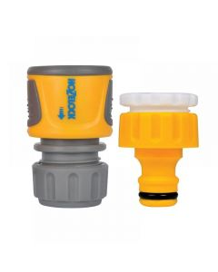 Hozelock Threaded Tap & Soft Touch Hose End Connector Set
