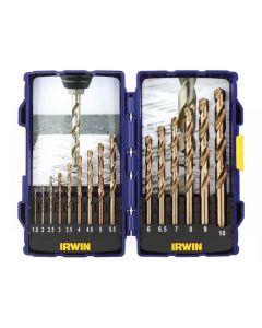 Irwin HSCO Pro Drill Set 15 Piece 1.5-10mm