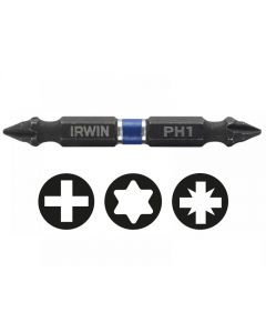 Irwin Impact Double Ended Screwdriver Bits Phillips Range