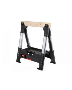 Keter Roc Lumberjack Adjustable Single Sawhorse