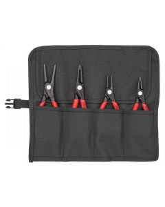 Knipex Precision Circlip Pliers Set in Roll 4 Piece 00 19 57
