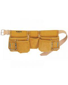 Kunys AP-630 Full Grain Leather Carpenters Apron Range