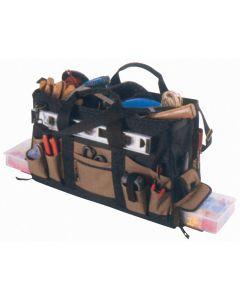 Kunys Double Traytote Bag 61cm 37 pocket SPECIAL with 2 Multi-Compartment Trays Double Traytote Bag