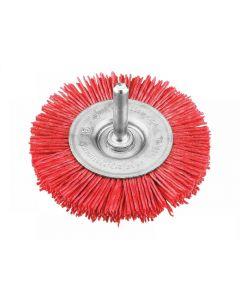 KWB Nylon Wheel Brush 100mm Coarse