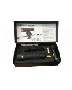 Ledlenser P7 Professional Torch with Pressure Switch & Gun Mount 1200