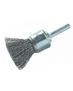 Lessmann DIY End Brush 25mm 0.30 Steel Wire