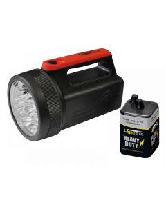 Lighthouse 8 LED Spotlight with 6V Battery 996 JT4021