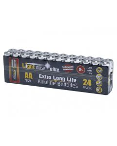 Lighthouse AA Batteries (Pack 24) 19BATAA24