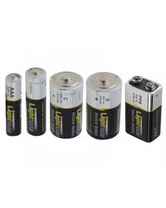 Lighthouse Alkaline Batteries Range