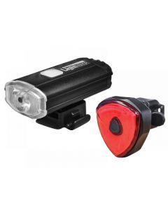 Lighthouse Elite Rechargeable LED Bike Light Set HL-BK4091 & 4902