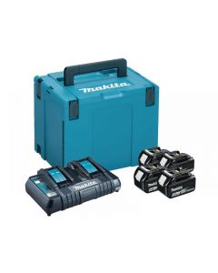 Makita 197627-6 Power Pack 18V 4 x 5.0Ah Li-ion 197627-6