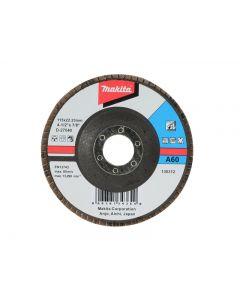 Makita D-27040 Flap Disc 115mm 60 Grit D-27040