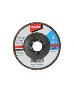 Makita D-27056 Flap Disc 115mm 80 Grit D-27056