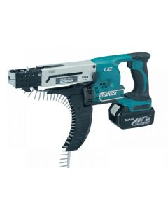 Makita DFR550 Auto Feed Screwdriver 18 Volt Range