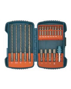 Makita P-66086 SDS Plus Hammer Drill and Driver Set, 19 Piece