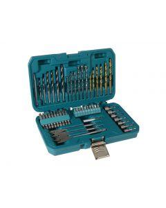 Makita P-90227 Trade Power Tool Accessory Set, 50 Piece P-90227