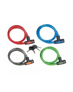 Master Lock Mixed Color Keyed Armoured Cable 1m x 18mm 8228EURDPRO