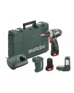 Metabo PowerMaxx BS Basic Screwdriver Set 10.8V 2 x 2.0Ah Li-ion 600080910