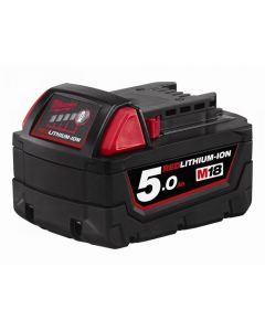 Milwaukee M18 REDLITHIUM-ION Slide Battery Pack Range