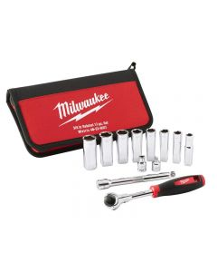 Milwaukee Tradesman 3/8in Ratchet Set 12 Piece 48229001
