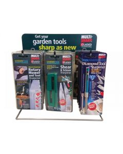 Multi-Sharp Counter-Top Display Stand - Gardening
