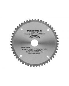 Panasonic EY9PP13B Multi Cut Saw Blade for Plastic 135mm x 20mm x 48T