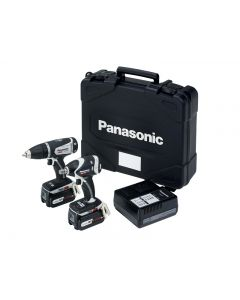 Panasonic EYC201LS2G Drill & Impact Wrench Twin Pack 14/18V 2 x 4.2Ah Li-ion