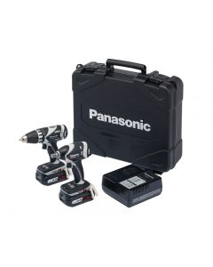 Panasonic EYC211LS2F Drill & Impact Wrench Twin Pack 14.4V 2 x 4.2Ah Li-ion