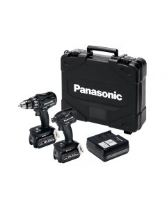 Panasonic EYC215LJ2G Twin Pack 18V 2 x 5.0Ah Li-Ion