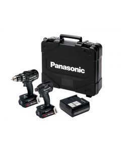 Panasonic EYC215PN2G Twin Pack 18V 2 x 3.0Ah Li-Ion
