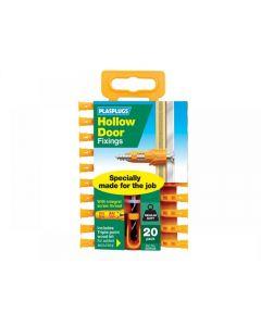 Plasplugs Hollow Door Fixings Range