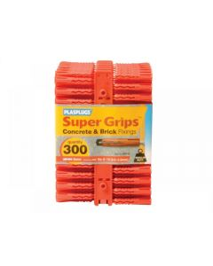 Plasplugs Solid Wall Super Grips Range