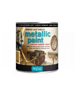 Polyvine Exterior & Interior Metallic Paint Range