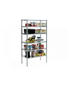 Raaco S450-31 Galvanised Shelving with 6 Shelves